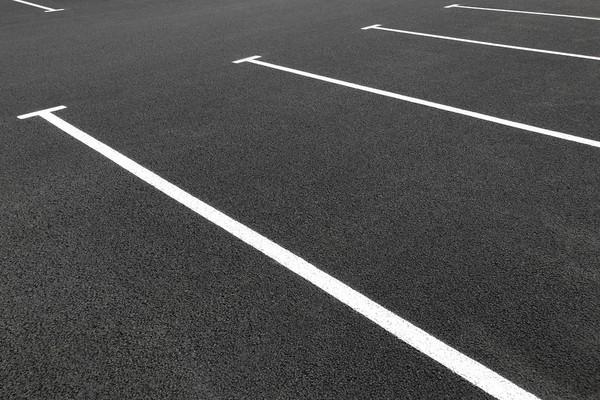 Information på asfalt